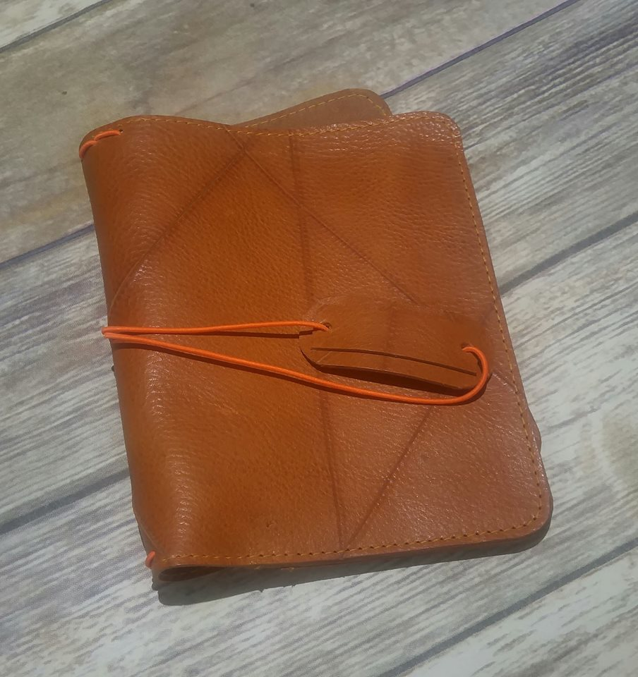 Maz Ready to Ship Pan [B6] leather Traveler's Notebook
