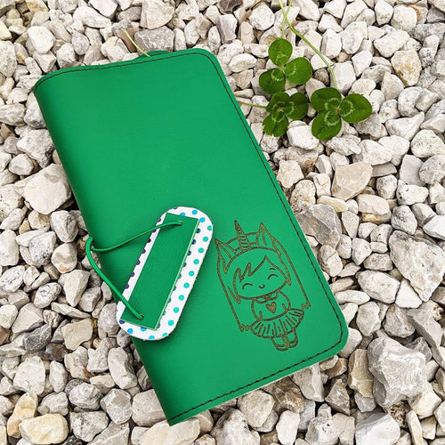 Saber CUSTOM leather traveler's notebook Pongo / A5 size