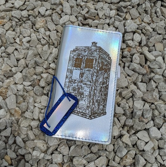 TARDIS Patronus Hobonichi Weeks / Weeks MEGA Cover Ready to Ship