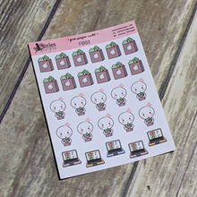 Groceries Sticker Sheet Ateles Designs & Pink Paper Cult