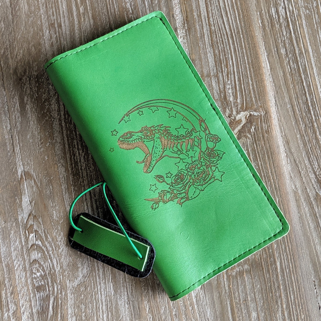 Clever Girl CUSTOM leather traveler's notebook Pongo / A5 size