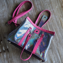 Small Holo WHO Leather Purse