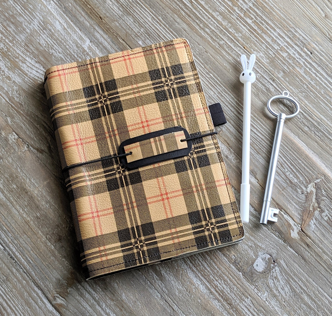 Harrison Ready to Ship leather traveler's notebook cover Pongo / A5 sized