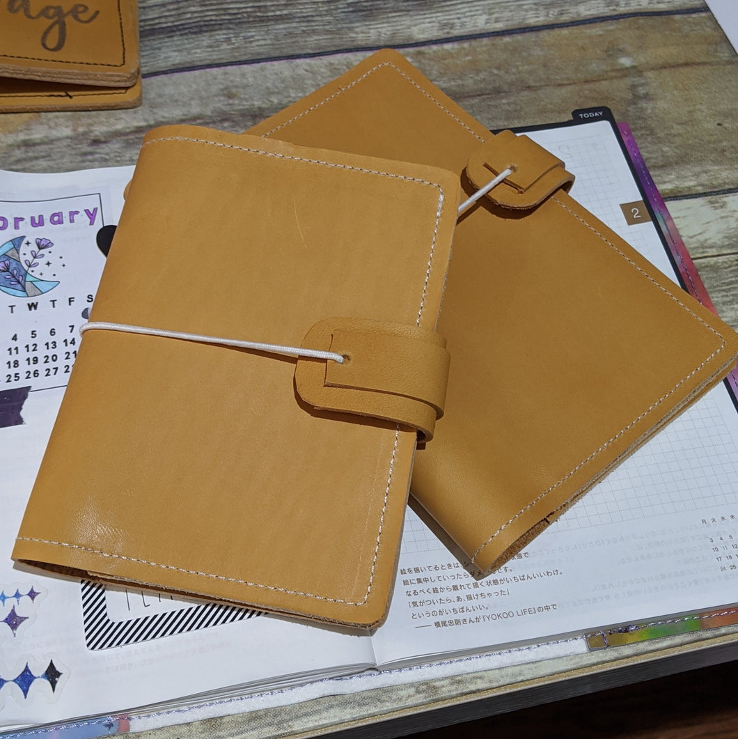Jude CUSTOM leather traveler's notebook Pongo / A5 size