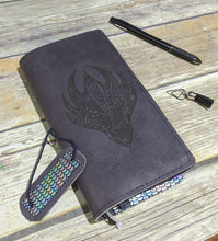 *Reduced* Ready to Ship Dragon Fuscata / WEEKS leather cover