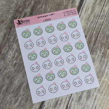 Face Mask Icons Sticker Sheet Ateles Designs & Pink Paper Cult