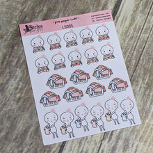 Laundry Sticker Sheet Ateles Designs & Pink Paper Cult