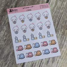 Dishes Sticker Sheet Ateles Designs & Pink Paper Cult