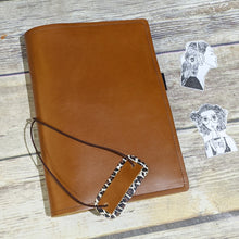 Paperback CUSTOM leather traveler's notebook Pongo / A5 size