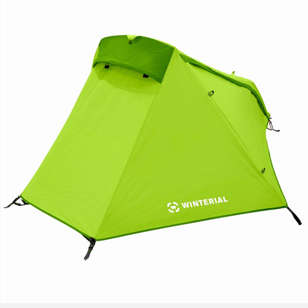 Winterial Single Person Tent Green