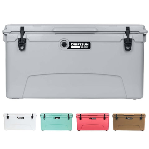 Driftsun 110 Quart Performance Ice Chest - Insulated Rotomolded Cooler