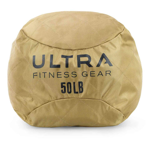 Front view Ultra Fitness Gear Soft Atlas Stone Sandbag, Loadable Up to 50 LB