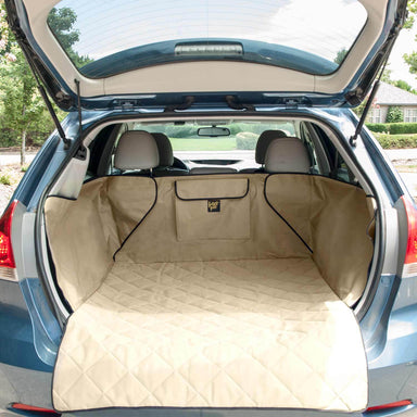 Frontpet Pet Cargo Cover Tan on SUV