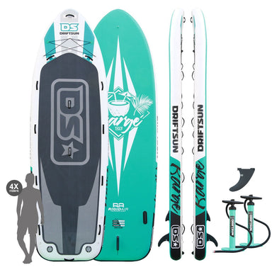 Driftsun Barge 15' Mega Inflatable Multi-Person Stand Up Paddleboard