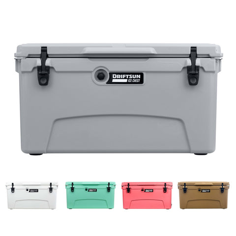 Driftsun 75 Quart Performance Ice Chest - Insulated Rotomolded Cooler