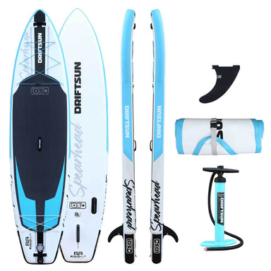 Spearhead SUP complete package shown in Blue and Black color