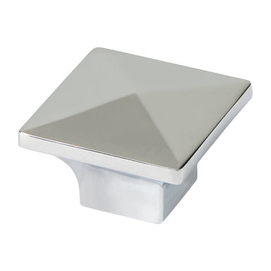 Engle Hardware Square Pyramid Top Cabinet Knob - Upper Rim