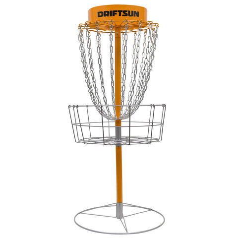 Driftsun Typhoon Heavy Duty Disc Golf Basket, Portable Practice Target