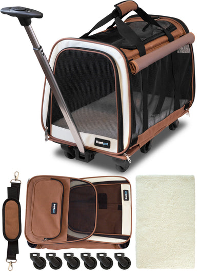 Airline Approved Rolling Pet Travel Carrier