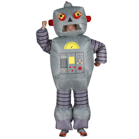 Robot Inflatable Costume front view