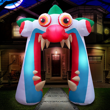10 ft Clown Arch Halloween Inflatable