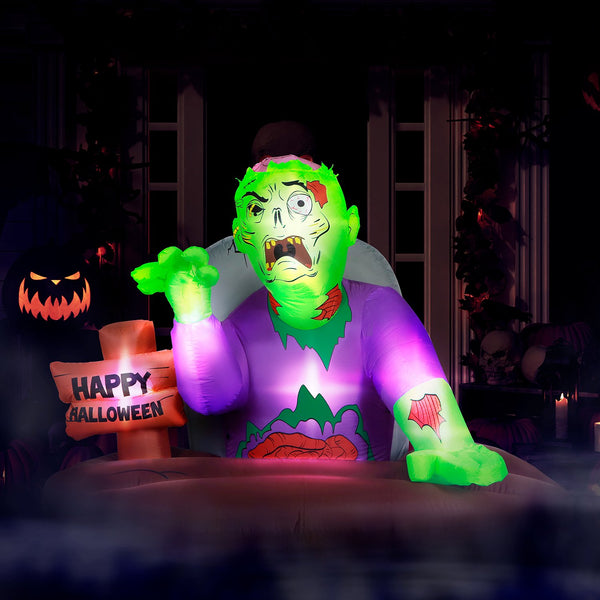5 ft Resurrected Graveyard Zombie Halloween Inflatable