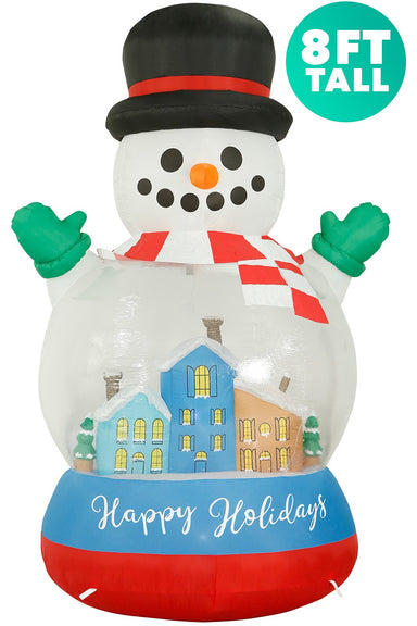 8 ft tall Snow Globe