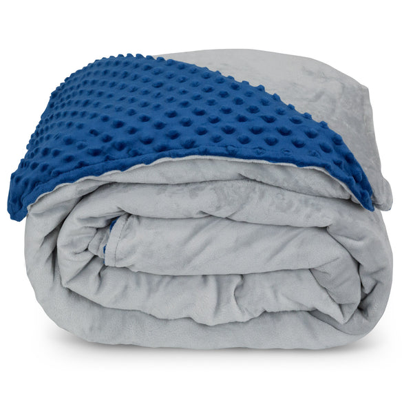 Premium Weighted Blanket in Minky Duvet Cover