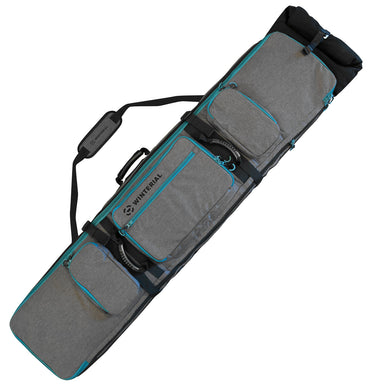 Winterial Rolling Expandable Double Snowboard and Ski Bag