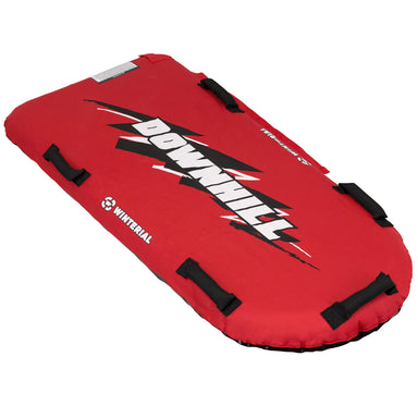 Winterial Downhill Snow Sled - Red
