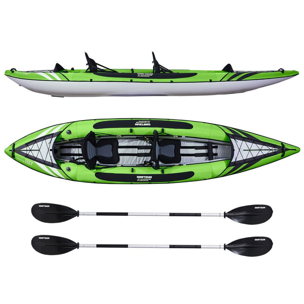 Driftsun Almanor 130 Two Person Inflatable Recreational Touring Kayak