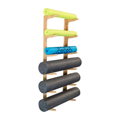 Ultra Fitness Gear OM Foam Roller & Yoga Mat Rack