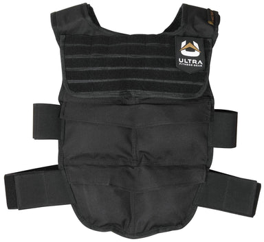 Ultra Fitness Gear Breathable Weighted Vest with Full Molle Webbing Chest Panel & Secure Straps, 12 to 48 lbs capacity