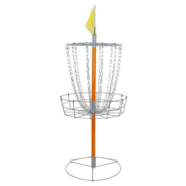 Front view of the Driftsun disc golf basket