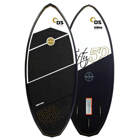 Wakesurf Board Showing Front & Back Of Board