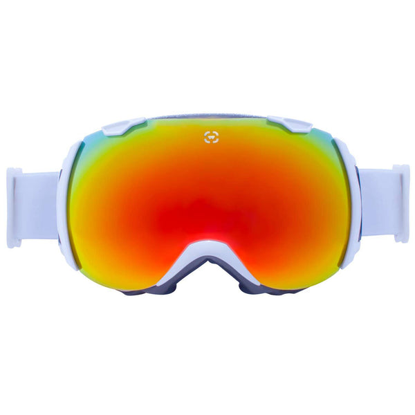 Winterial Globe Ski and Snowboard Goggles White