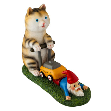 Mow your Gnome Yard Figure