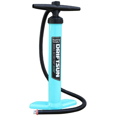 Manual Air Pump for Paddleboards, Floating Platforms and Kayaks, Double Action Pump, High Pressure, High Volume