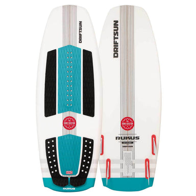 Driftsun Rukus Wakesurf Board, 4ft. 6in. Custom Surf Style Wakesurfer