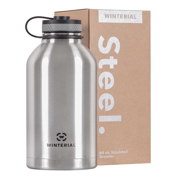 Winterial 64oz Stainless Steel Growler