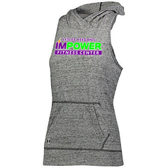 Ladies Sleeveless Hooded Tank I'MPower