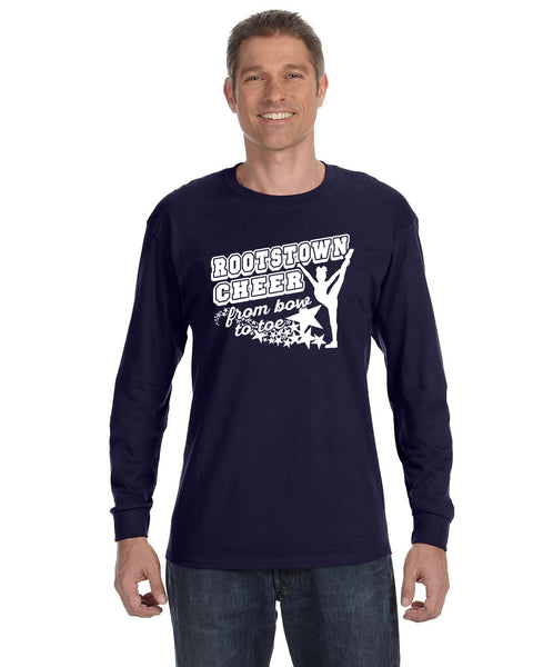 Rootstown Cheer Long Sleeve T-Shirt