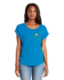 Kids Link Ladies Dolman with Rolled Sleeves