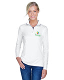 Kids Link Ladies Ultra Club Quarter Zip
