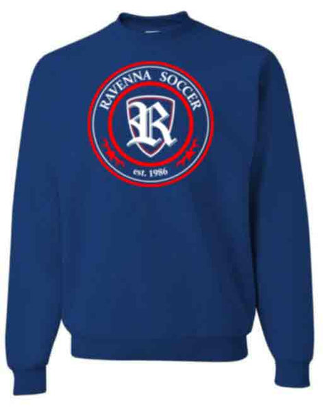 Crewneck Sweatshirt for Youth and Adults Logo B