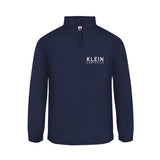 Klein's Embroidered Quarter-Zip Pullover