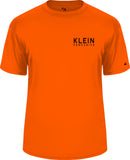 Klein's Short Sleeve Dri Fit (Safety Orange)