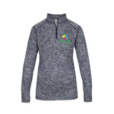 Kids Link Women's Heathered Quarter Zip