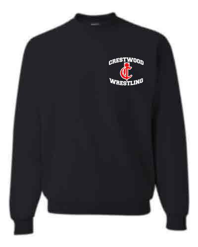Adult or Youth 1/4 zip pull-over Logo C - CHS/MS