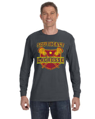 Southeast Lacrosse Charcoal Long Sleeve T-Shirt
